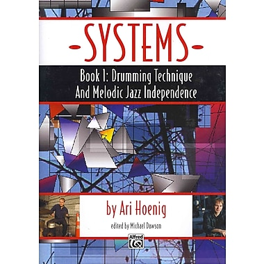 Systems, Bk 1: Drumming Technique and Melodic Jazz Independence