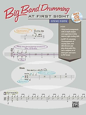 Big Band Drumming at First Sight (Book & CD)