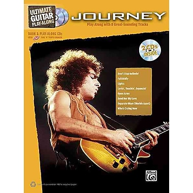Ultimate Guitar Play-Along Journey: Authentic Guitar TAB (Book & 2 Enhanced CDs) (Ultimate Play-Along)