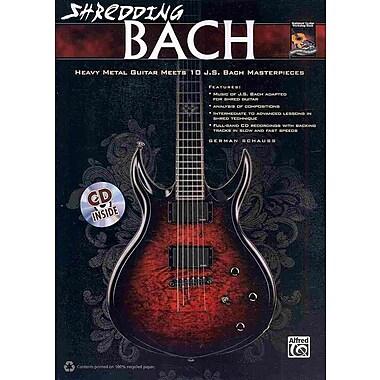 Shredding Bach (Book & CD) (National Guitar Workshop)