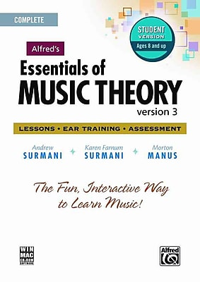 Alfred's Essentials of Music Theory: Version 3.0: Lessons, Ear Training, Assessment: Complete