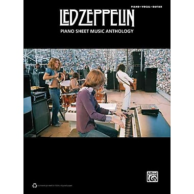 Led Zeppelin -- Piano Sheet Music Anthology: Piano/Vocal/Guitar