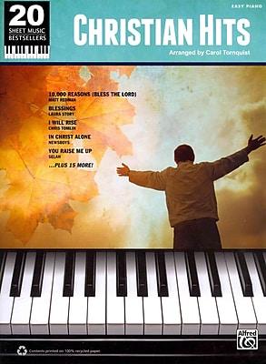 20 Sheet Music Bestsellers: Christian Hits: Easy