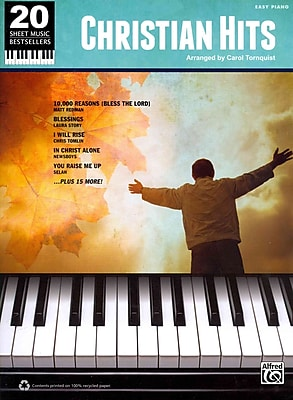 20 Sheet Music Bestsellers: Christian Hits: Easy Piano