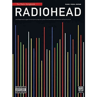 The Piano Songbook Radiohead 28 Of Radiohead's Biggest Hits PVG