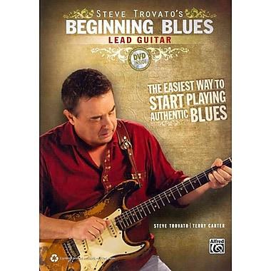 Steve Trovato's Beginning Blues Lead Guitar (Book & DVD)