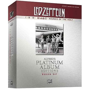 Led Zeppelin I-V (Boxed Set) Platinum Guitar: Authentic Guitar TAB (Book (Boxed Set)) (Alfred's Platinum Albums)
