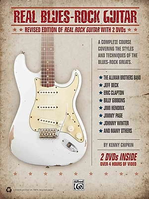 Real Blues-Rock Guitar: Revised Edition of Real Rock Guitar with 2 DVDs (Book & 2 DVDs)