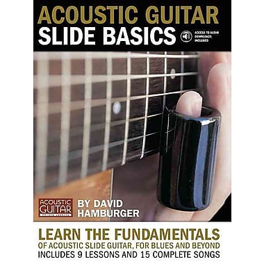 Acoustic Guitar Slide Basics Book/Downloadable Audio