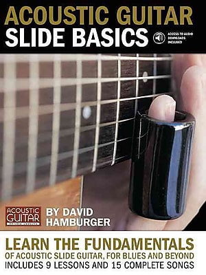 Acoustic Guitar Slide Basics Book/Downloadable Audio