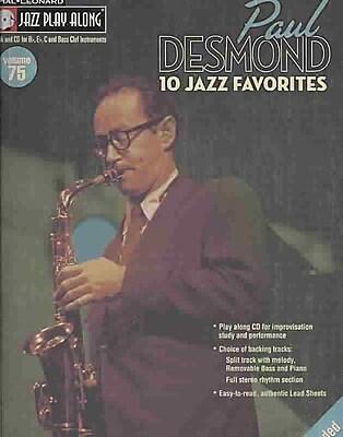 Paul Desmond Jazz Play-Along