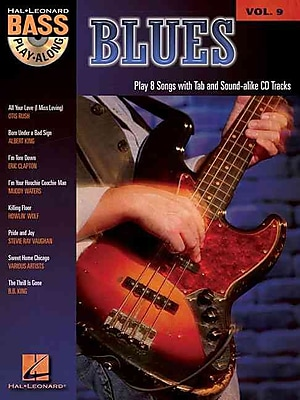 Blues: Blues Bass Play-Along Volume 9 (Pt. 9)