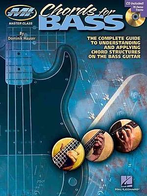 CHORDS FOR BASS BK/CD (Musicians Institute: Master Class)