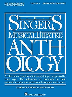 The Singer's Musical Theatre Anthology: Mezzo-Soprano/Belter, Vol. 4