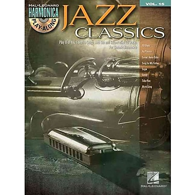 Jazz Classics: Harmonica Play-Along Volume 15 (Book/CD) (Hal Leonard Harmonica Play-Along)