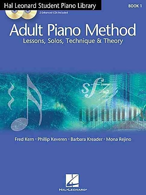 Hal Leonard Student Piano Library Adult Piano Method - Book 1/CD: Book/CD Pack