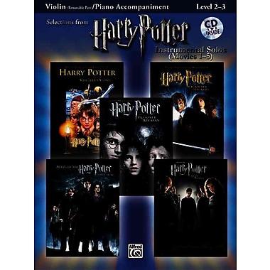 Harry Potter, Instrumental Solos for Violin/Piano Accompaniment (Movies 1-5) (Pop Instrumental Solo)