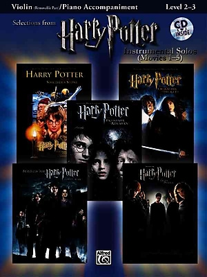 Harry Potter, Instrumental Solos for Violin/Piano Accompaniment (Movies 1-5) (Pop Instrumental Solo)