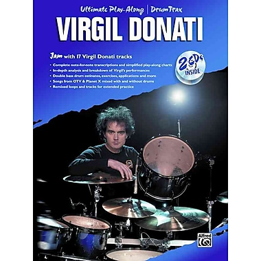 Virgil Donati: Ultimate Play Along Drum Trax (Book & 2 CD's)