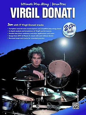 Virgil Donati: Ultimate Play Along Drum Trax (Book & 2 CD's)