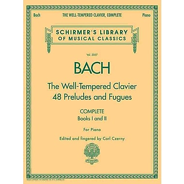 The Well-Tempered Clavier, Complete: Schirmer Library of Musical Classics, Volume 2057 (Schirmer's Library of Musical Classics)