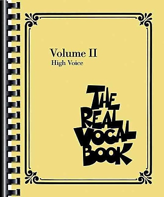 The Real Vocal Book - Volume 2: High Voice (Fake Book)