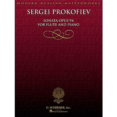 Sergei Prokofiev: Sonata Opus 94 for Flute and Piano (Moern Russian Masterworks)