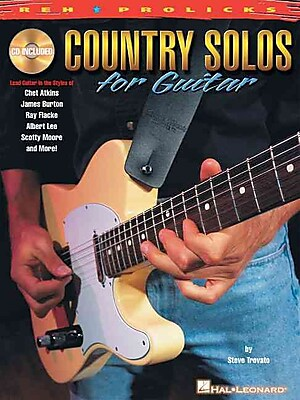 Country Solos for Guitar: REH * Prolicks Series (Reh U Prolicks Series)
