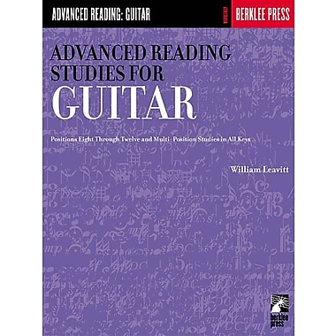 Advanced Reading Studies for Guitar: Guitar Technique (Advanced Reading: Guitar)