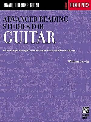 Advanced Reading Studies for Guitar: Guitar Technique (Advanced Reading: Guitar)