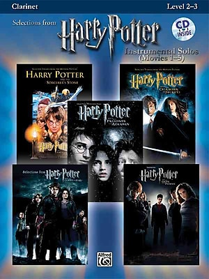Harry Potter, Instrumental Solos (Movies 1-5): Clarinet (Book & CD) (Pop Instrumental Solo Series)