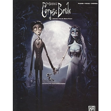 Corpse Bride- Selections From The Motion Picture - Piano/Vocal/Chords