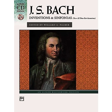 J. S. Bach: Inventions & Sinfonias (Book & CD) (Alfred CD Edition)