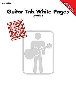 Guitar Tab White Pages Vol 1