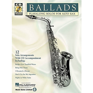 Ballads: Play-Along Solos for Alto Sax (Instrumental Folio)