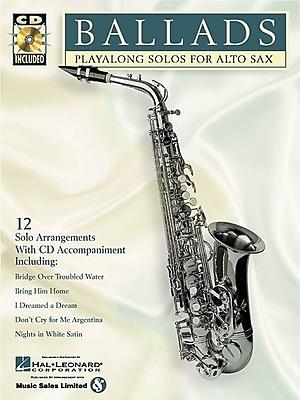 Ballads: Play-Along Solos for Alto Sax (Instrumental Folio)