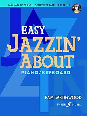 Easy Jazzin' About: Piano / Keyboard (Book & CD)