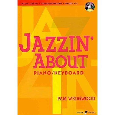 Jazzin' About for Piano / Keyboard (Book & CD)