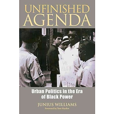 Unfinished Agenda: Urban Politics in the Era of Black Power