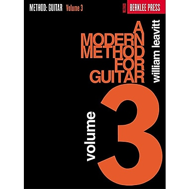 A Modern Method for Guitar - Volume 3 (Guitar Method)