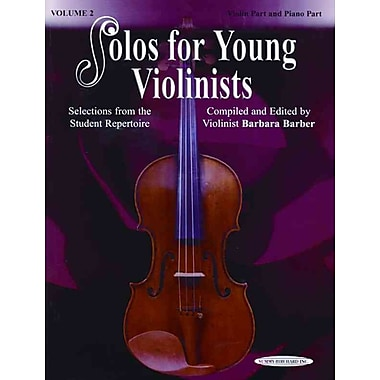 Solos for Young Violinists, Vol 2 (Solos Young Violinist)