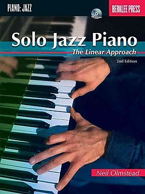Solo Jazz Piano: The Linear Approach - Berklee Press Book/CD (2nd Edition)