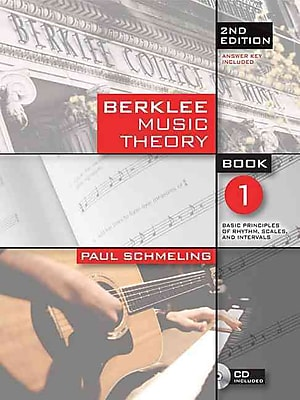 Berklee Music Theory Book 1 (Book/Cd) 2nd Edition