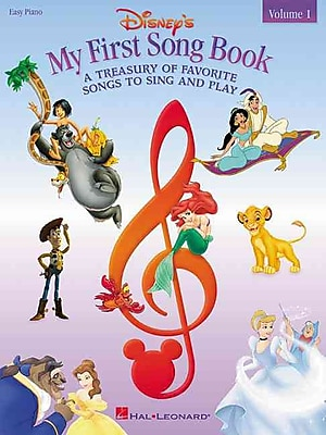 Disney's My First Songbook A Treasury Of Favorite Songs To Sing And Play
