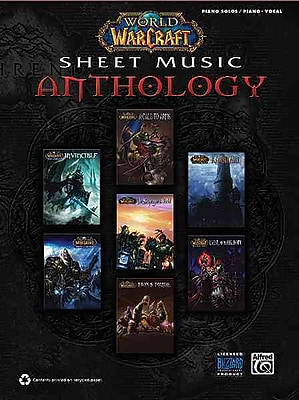 World of Warcraft Sheet Music Anthology: Piano Solos & Piano/Vocal