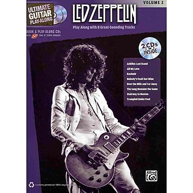 Ultimate Guitar Play-Along Led Zeppelin, Vol 2: Authentic Guitar TAB (Book & 2 CDs)
