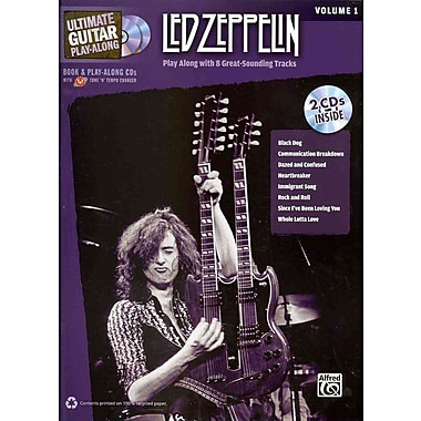 Ultimate Guitar Play-Along Led Zeppelin, Vol 1: Authentic Guitar TAB (Book & 2 CDs)