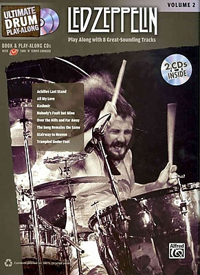 Ultimate Drum Play-Along Led Zeppelin, Vol 2: Authentic Drum (Book & 2 CDs) (Ultimate Play-Along)
