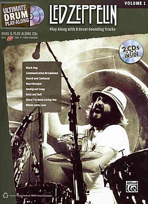 Ultimate Drum Play-Along Led Zeppelin, Vol 1: Authentic Drum (Book & 2 CDs) (Ultimate Play-Along)