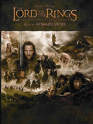 The Lord of the Rings Trilogy: Music from the Motion Pictures Arranged for Solo Piano 1243301